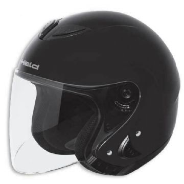 Held Kosar Scooter Motorcycle Motorbike Open Face Helmet - Black - Medium